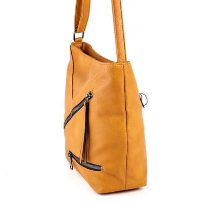 Gullig mustársárga női táska