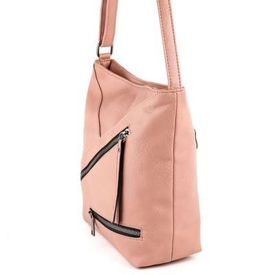 Gullig púder színű női táska