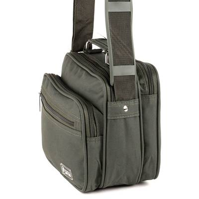 Bellugio zöld férfi táska