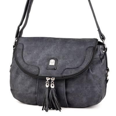 L&H Bags fekete női táska