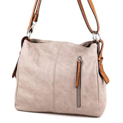 Hernan szürke-barna női táska