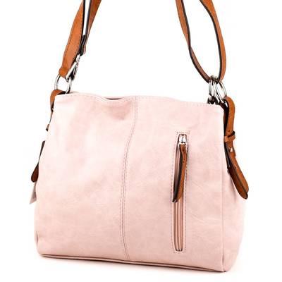 Hernan púder-barna női táska