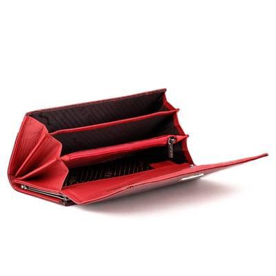 Lorenti piros bőr pénztárca