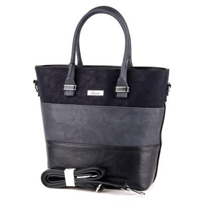 Karen kék rostbőr női  táska