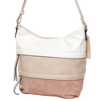Dudlin bézs-púder női táska