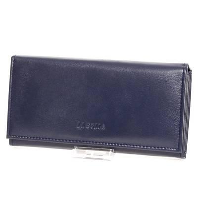 La Scala kék női bőr pénztárca