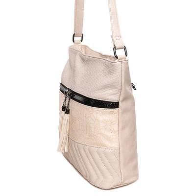 Urban Style bézs női táska