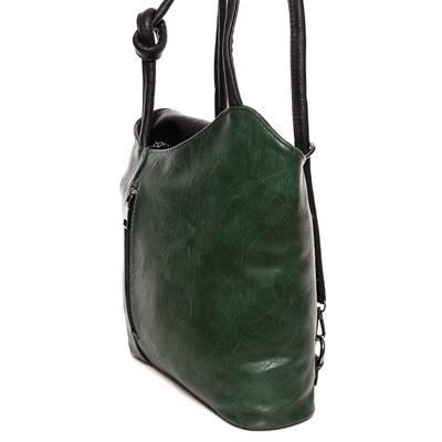 Hernan zöld-fekete női táska