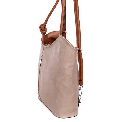 Hernan drapp-barna női táska