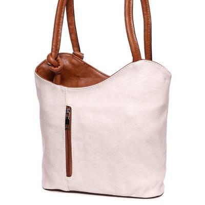Hernan bézs-barna női táska