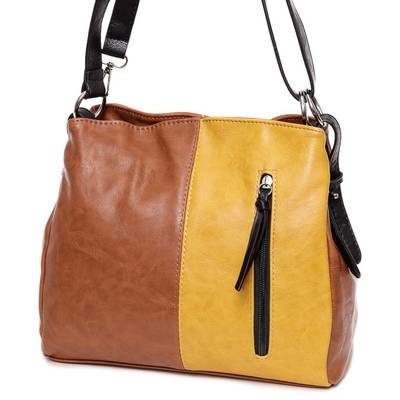 Hernan barna-sárga női táska