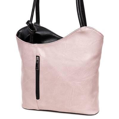 Hernan púder-fekete női táska