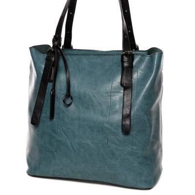 Hernan kék-fekete női táska