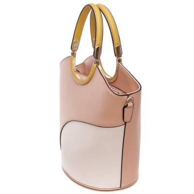Micussi púder-bézs női táska
