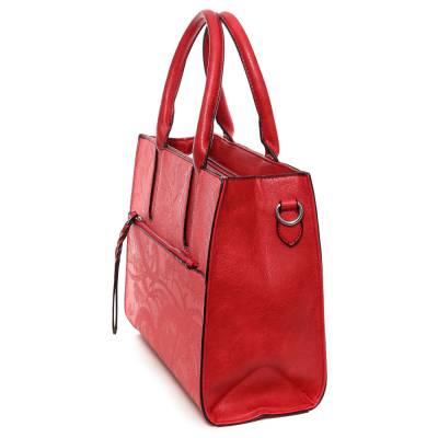 Urban Style piros női táska