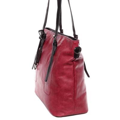 Hernan bordó-fekete női táska