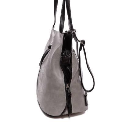 Hernan szürke-fekete női táska