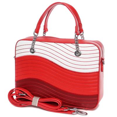 Micussi piros női táska