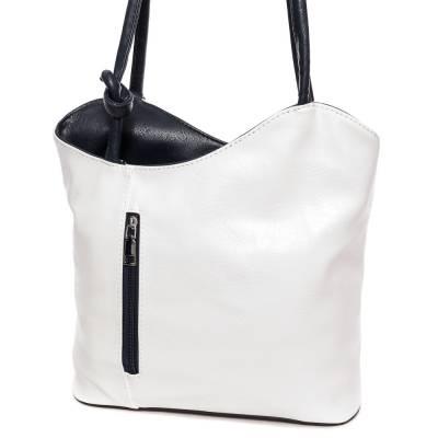 Hernan fehér-kék női táska