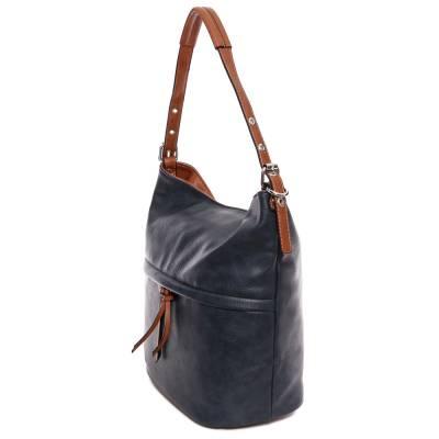 Hernan kék-barna női táska