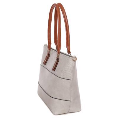 Dudlin szürke-barna női táska