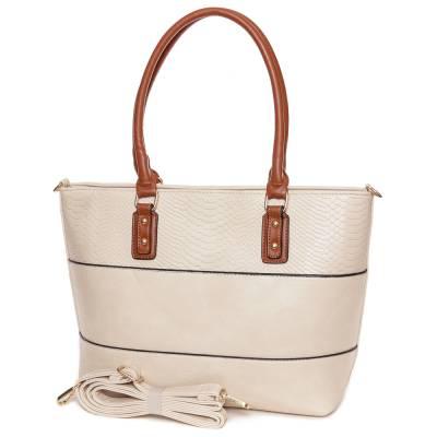Dudlin bézs-barna női táska