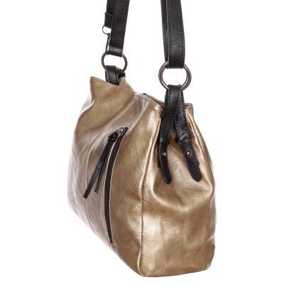 Hernan arany-fekete női táska