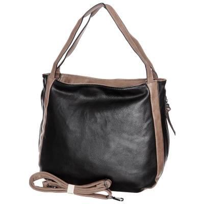 Hernan fekete-barna női táska