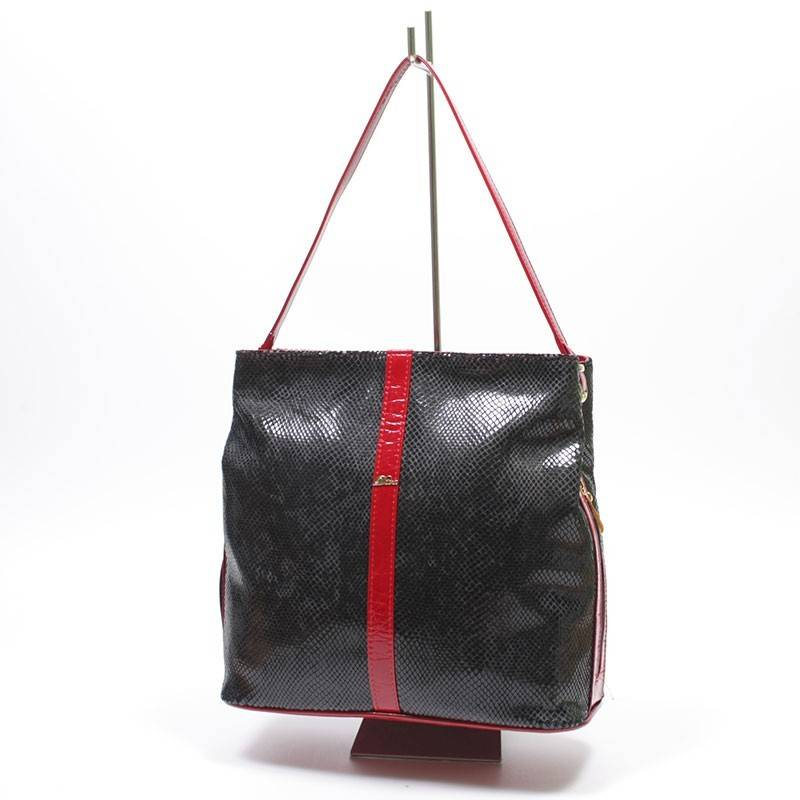 3d304d6bb906 Diva Collection fekete-piros női táska #1124