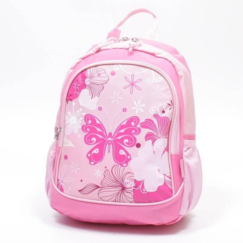 Rózsaszín lepkés óvodás hátizsák
