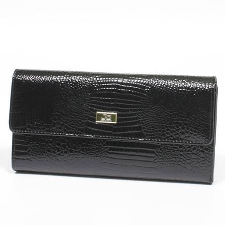 Jacky & Celine fekete bőr pénztárca