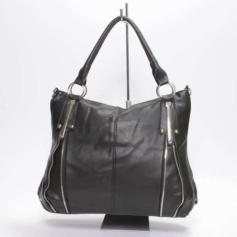 f7e6d85925 Nagy méretű fekete női táska #1172
