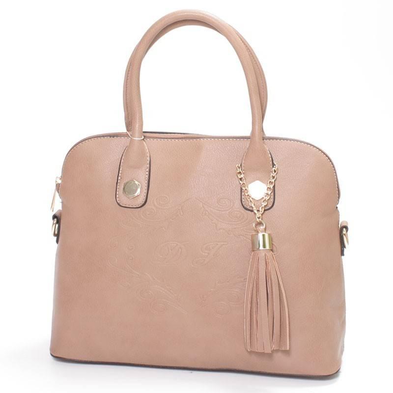 c8deb95bca0d David Jones barna merev falú női táska #1230