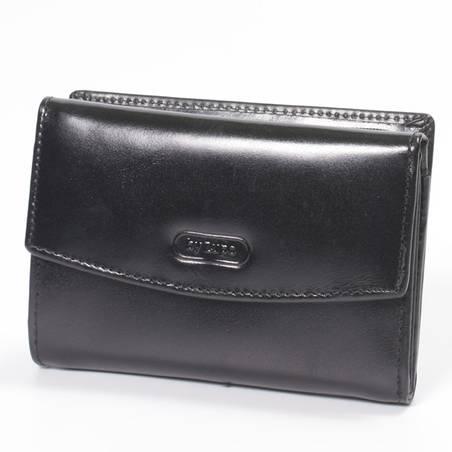 byLupo női fekete bőr pénztárca