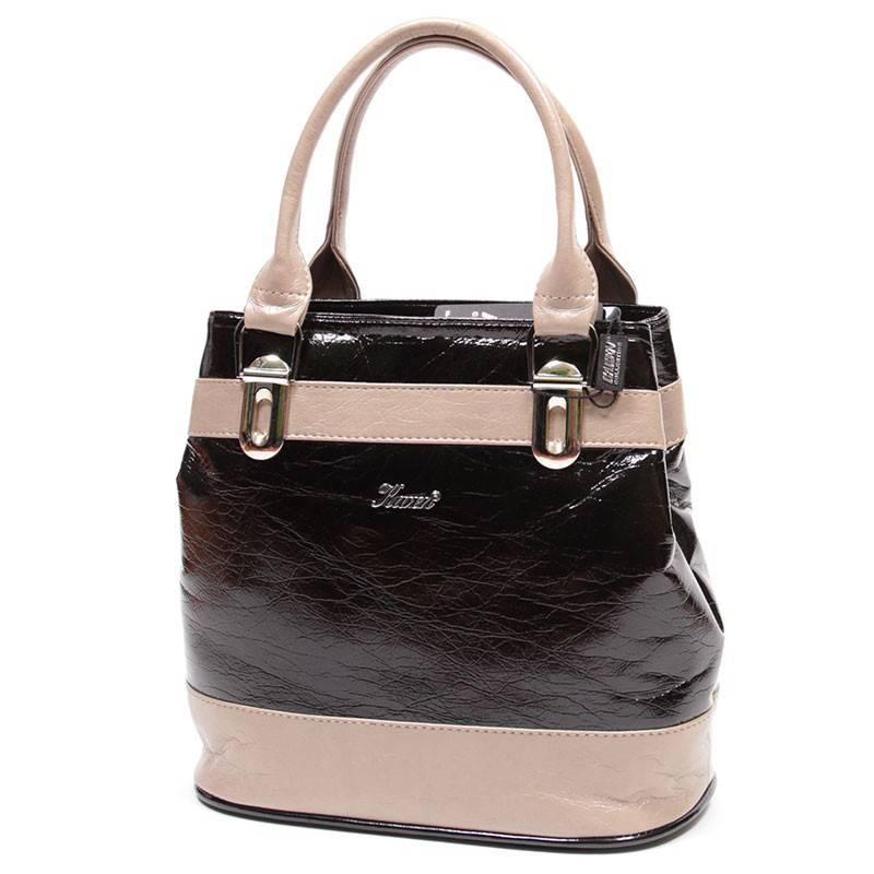 Karen fekete-barna női rostbőr táska  1457 23f5c61b00