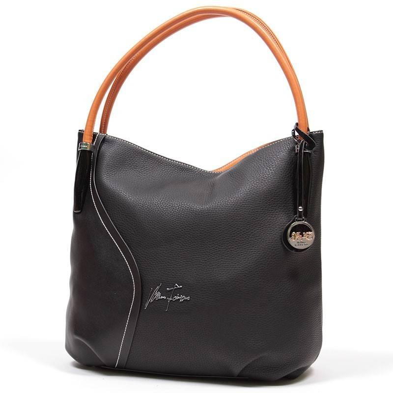 d211b76d4e75 Velina Fabbiano fekete divatos női táska #1538