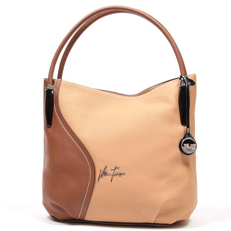 b755d0035b16 Velina Fabbiano barna divatos női táska #1537