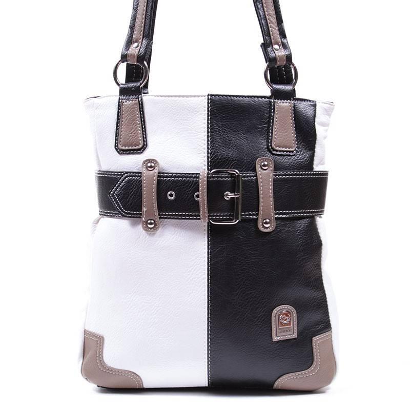 Laurence C fekete-fehér női táska  1530 94f27e3ea1