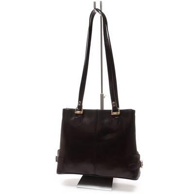 Fekete női bőr táska