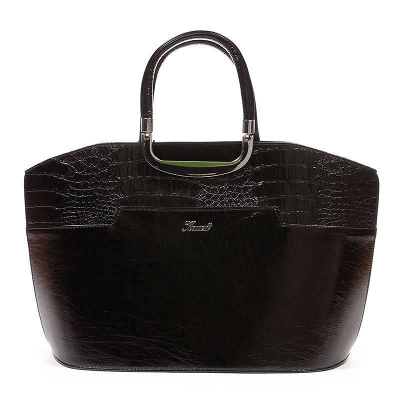 Karen fekete merev falú női rostbőr táska  1728 721cee90ff