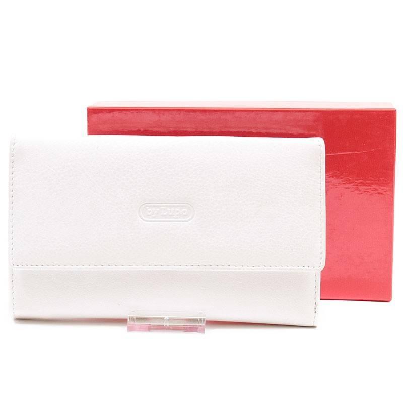 ByLupo fehér női bőr pénztárca