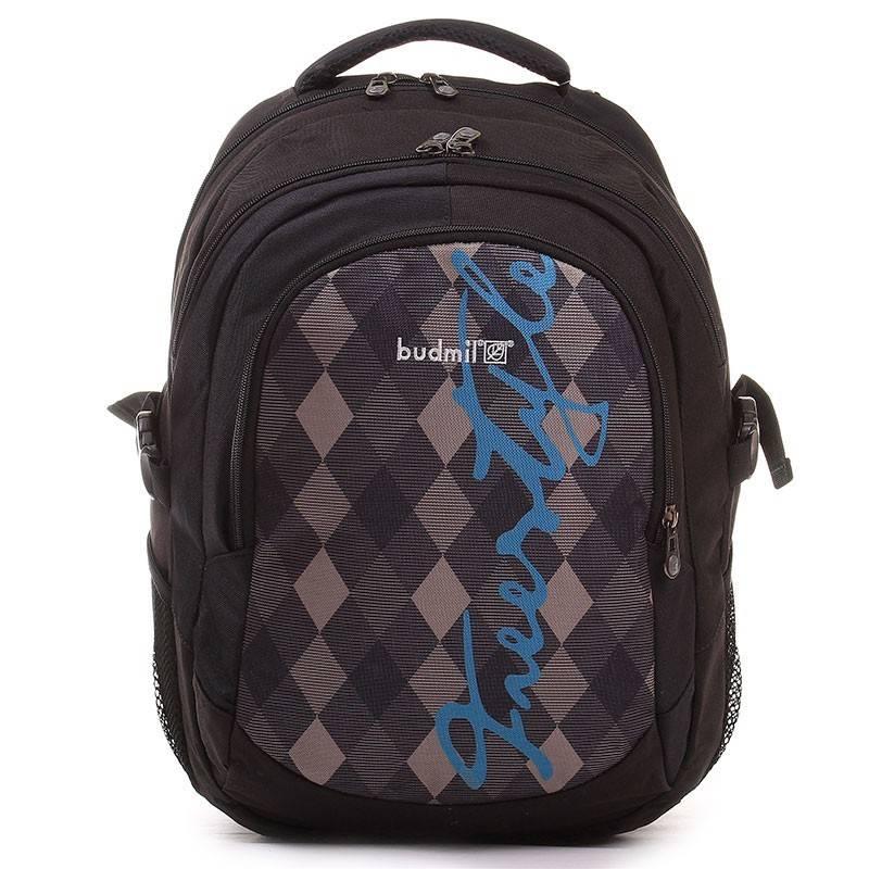 Budmil fekete-kék hátizsák  1929 bd67233b7c