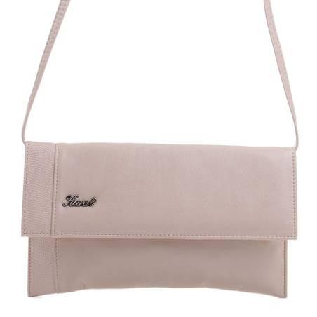 Karen bézs női rostbőr alkalmi táska