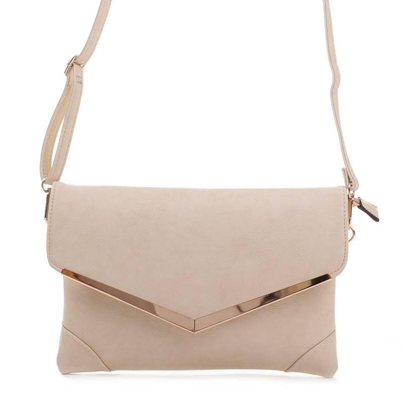 Valentina bézs női boríték táska  1944 149fd3202a