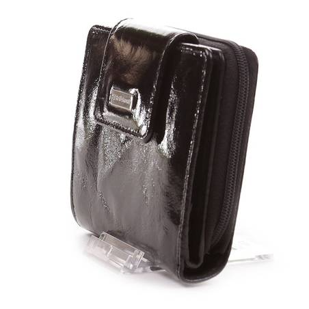 Sylvia Belmonte fekete női bőr pénztárca  1897 185b41b381